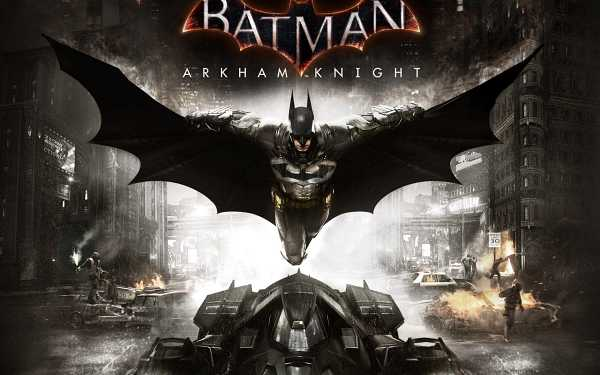 arkham knight ps4 cover
