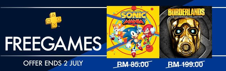 Game PS Plus Percuma 2019