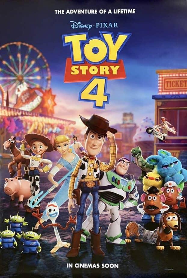 poster filem toy story 4