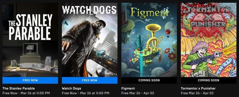 Permainan Percuma dari Epic Games Store